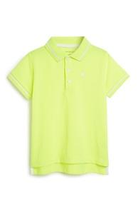 Neongelbes Poloshirt (kleine Jungen)