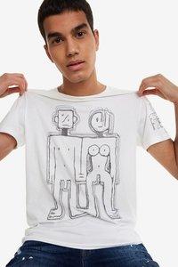 T-Shirt mit Bleistift-Logo Cedric
