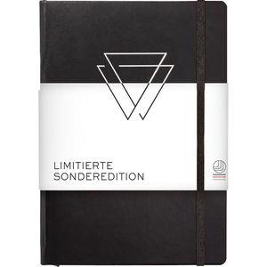 Leuchtturm1917 Notizbuch Sonderedition, A5, liniert, schwarz