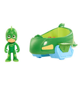"SIMBA             Actionfigur ""PJ Masks - Gecko"", mit Fahrzeug"
