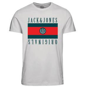 JACK & JONES             T-Shirt, Logo-Print, für Jungen
