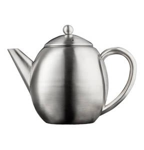 """Bredemeijer             Teekanne """"London"""", doppelwandig, 1,2L, inkl. Filter, matt"""