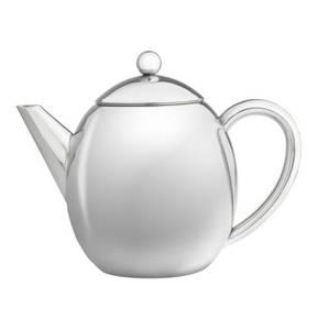 """Bredemeijer             Teekanne """"London"""", doppelwandig, 1,2L, inkl. Filter"""
