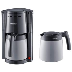 Severin Kaffeemaschine mit 2 Thermokannen KA9236, grau