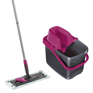 Leifheit Set Combi Clean M Color Edition, pink