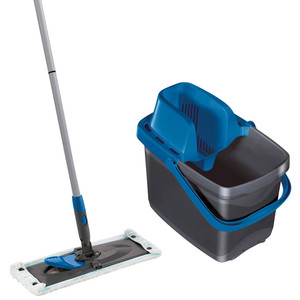 Leifheit Set Combi Clean M Color Edition, blau