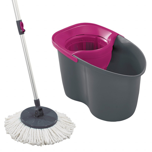 Leifheit Rotation Disc Mop Color Edition, pink