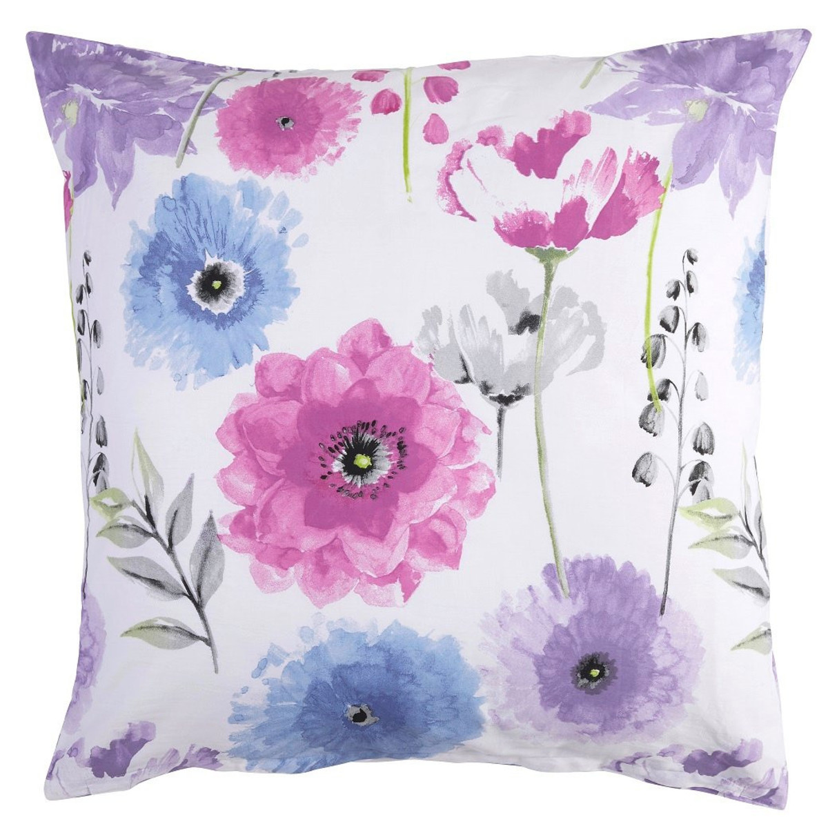 Bild 4 von Home Ideas Living Satin-Bettwäsche, Blume