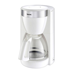 Tefal Glas-Kaffeemaschine Delfini Plus, weiß