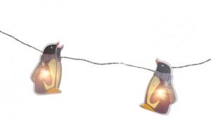 Home Ideas LED Lichterkette Pinguin