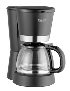 Tec Star Kaffeemaschine, schwarz