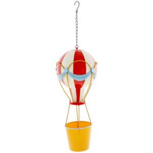 Blumentopf an Luftballon