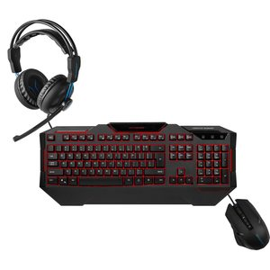 MEDION ERAZER® Gaming Sparpaket - ERAZER® P83962 Gaming Headset, ERAZER® X81019 Gaming Tastatur & ERAZER® Gaming Mouse X81026