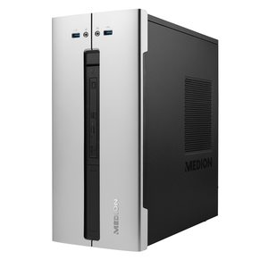 MEDION AKOYA® P62015, Intel® Core™ i5-9400, Windows10Home, 256 GB PCIe SSD, 1 TB HDD, 8 GB DDR4 RAM, Multimedia PC
