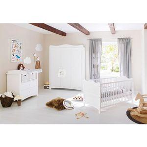 Pinolino   3-tlg. Babyzimmer Florentina breit groß