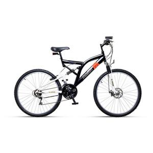 Mountainbike Mobion in Schwarz
