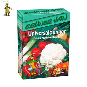 Grüner Jan Universaldünger 2,5kg