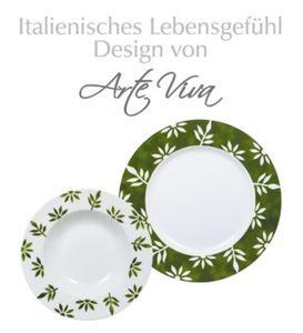 Tafelservice Milena 12tlg. grün