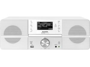 TECHNISAT DIGITRADIO 361 CD IR, Internetradio, Weiß