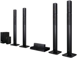 LG LHB 655NW, 5.1 Heimkinosystem, 1000 Watt, Bluetooth, Schwarz