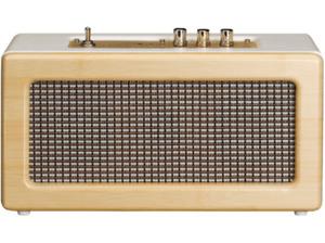 LENCO BT 300 OAK, Bluetooth Lautsprecher, Ausgangsleistung 20 Watt, Oak