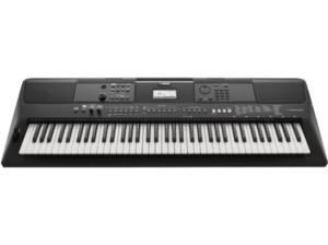 YAMAHA PSR-EW410 Digital Keyboard, Schwarz