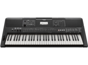 YAMAHA PSR-E463 Digital Keyboard, Schwarz