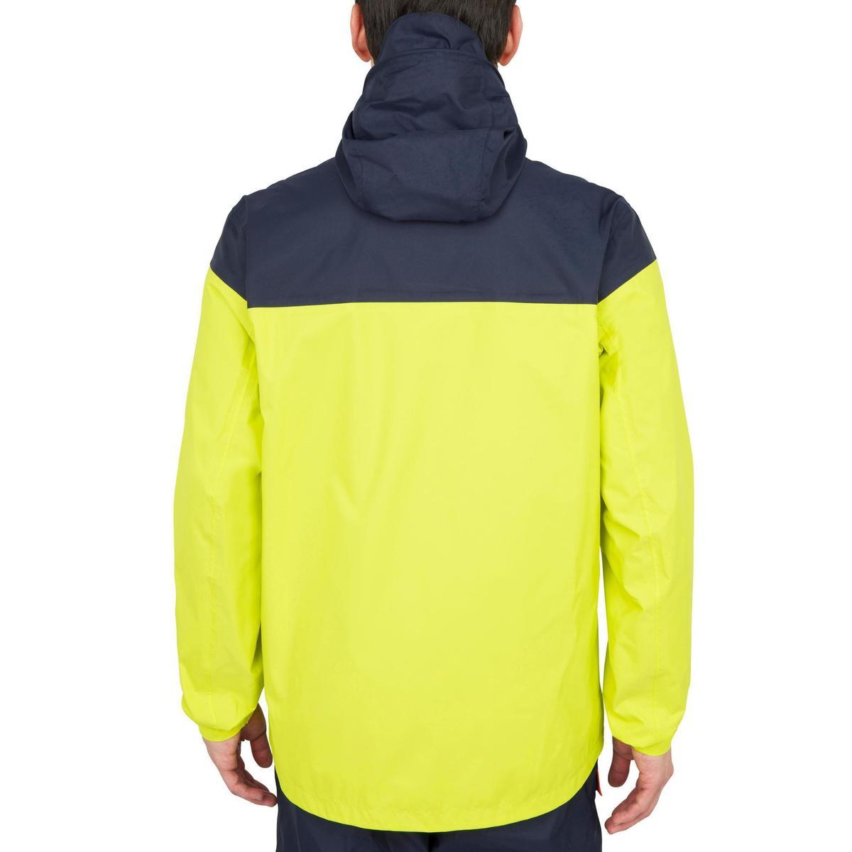 Bild 3 von Segeljacke wasserdicht Inshore 100 Herren gelb/blau