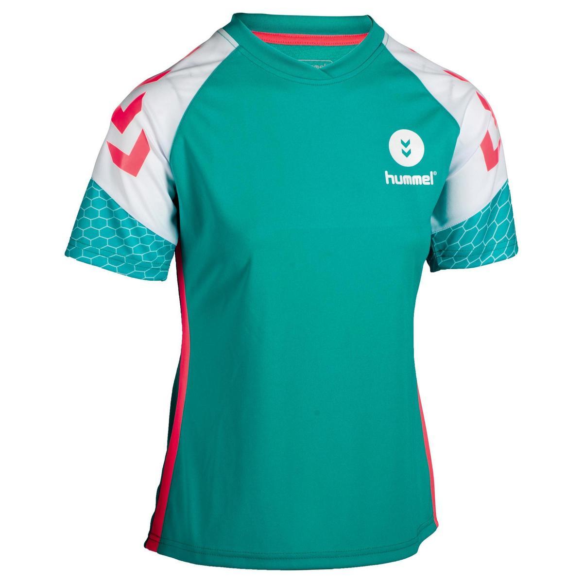 Bild 1 von Handballtrikot Damen türkis/weiß