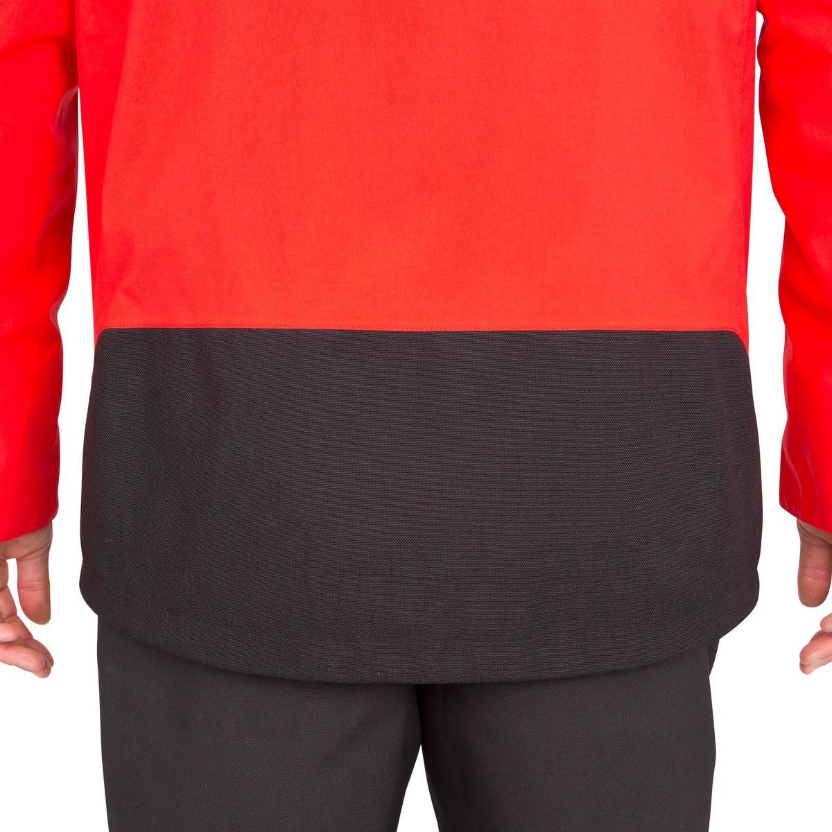 Bild 4 von Segeljacke wasserdicht 500 Herren rot
