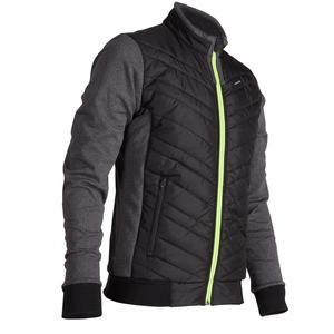 Golf Wattierte Jacke kühle Witterungen Herren schwarz