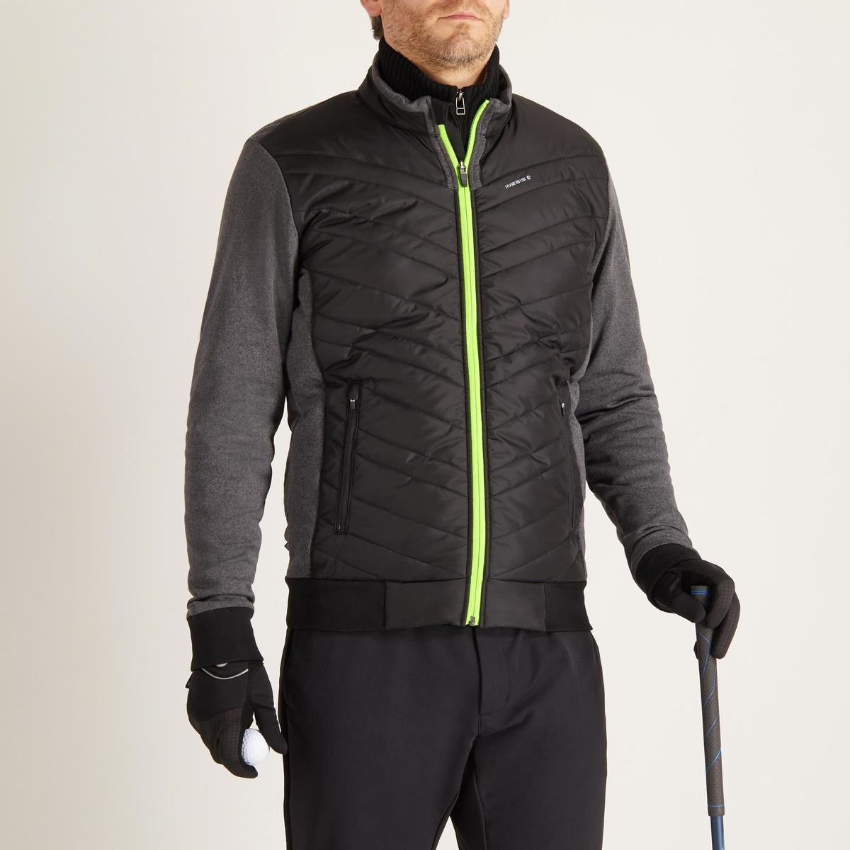 Bild 2 von Golf Wattierte Jacke kühle Witterungen Herren schwarz