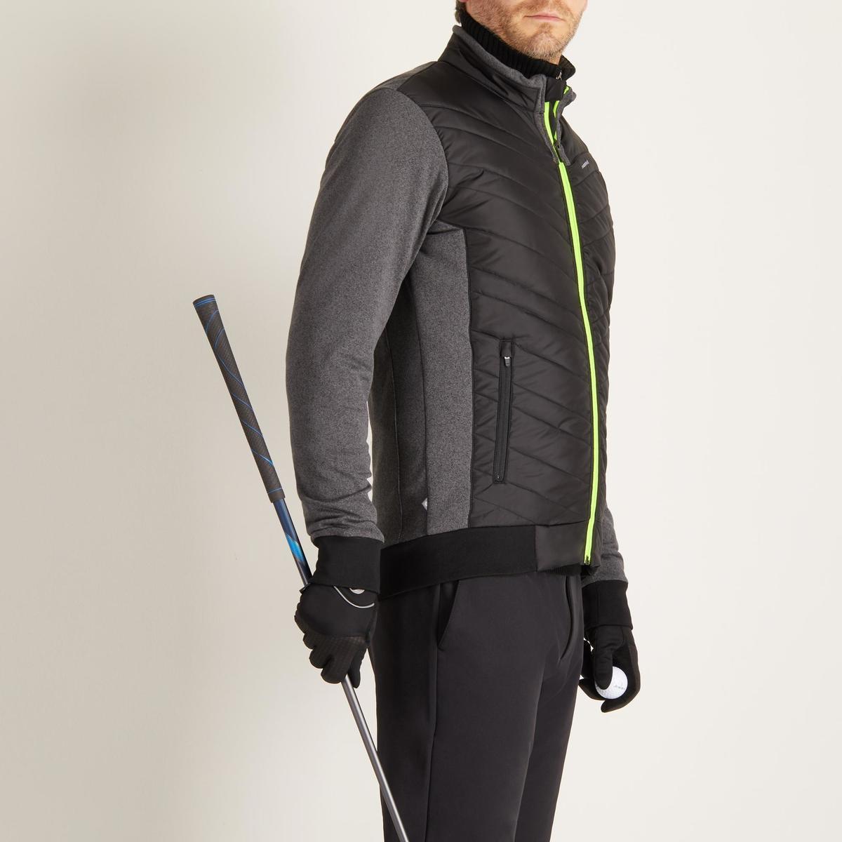 Bild 3 von Golf Wattierte Jacke kühle Witterungen Herren schwarz