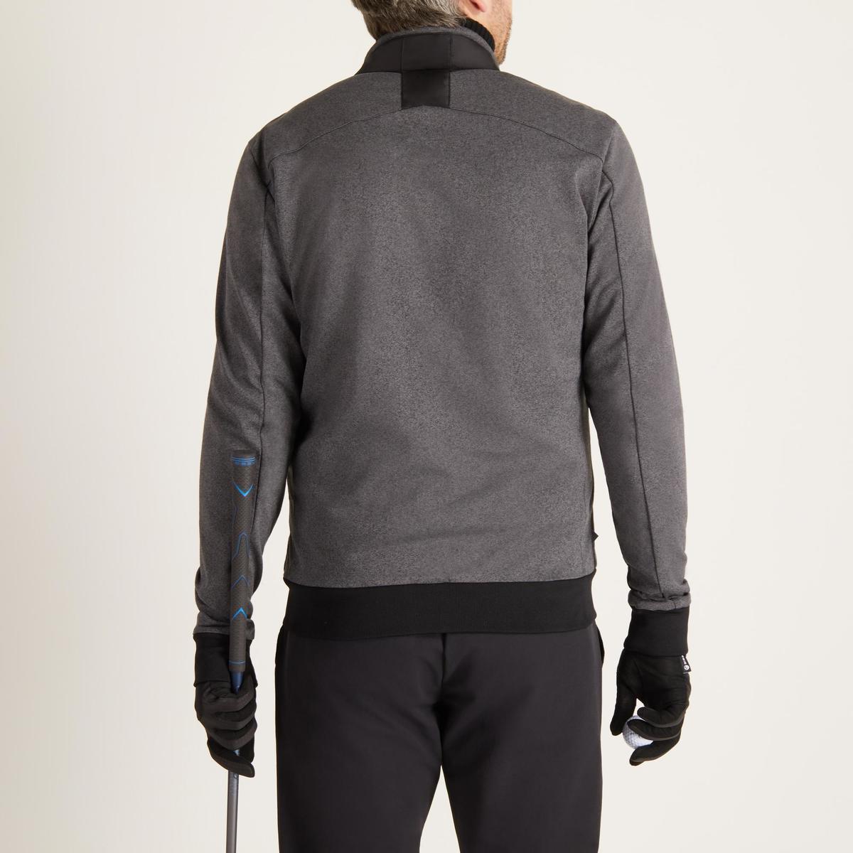 Bild 4 von Golf Wattierte Jacke kühle Witterungen Herren schwarz