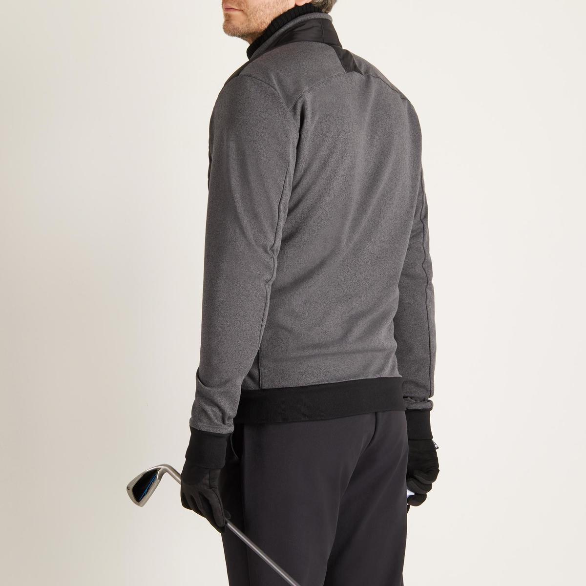 Bild 5 von Golf Wattierte Jacke kühle Witterungen Herren schwarz