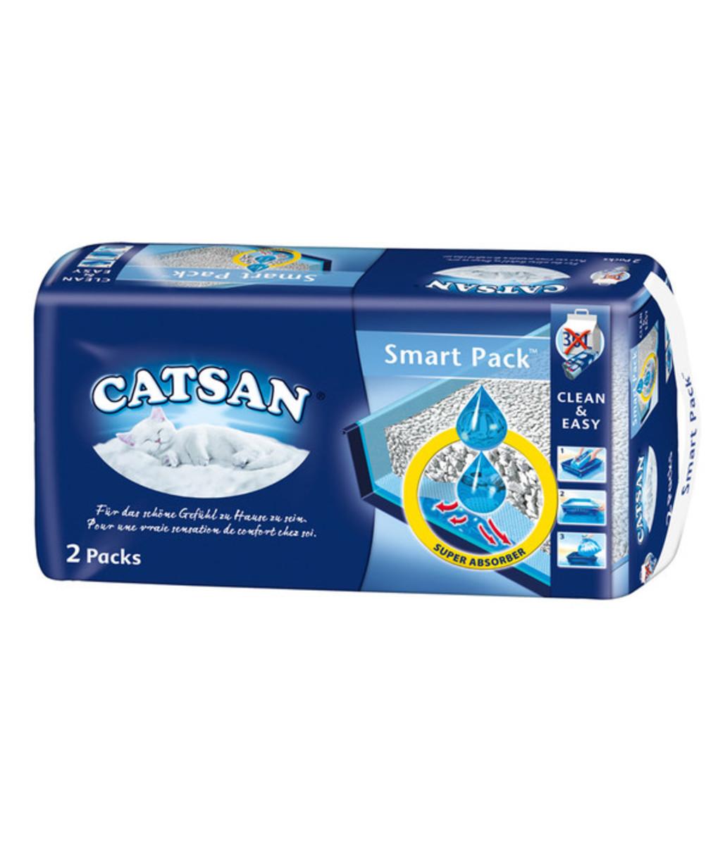 Bild 1 von Katzenstreu Catsan Smart Pack, 2 Stk.