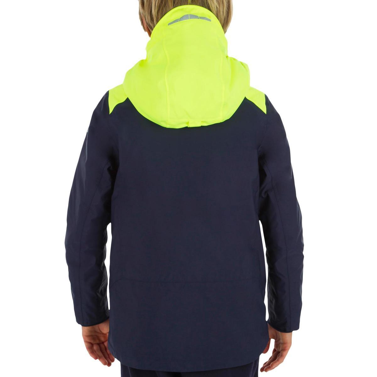 Bild 3 von Segeljacke warm 100 Jungen blau/gelb