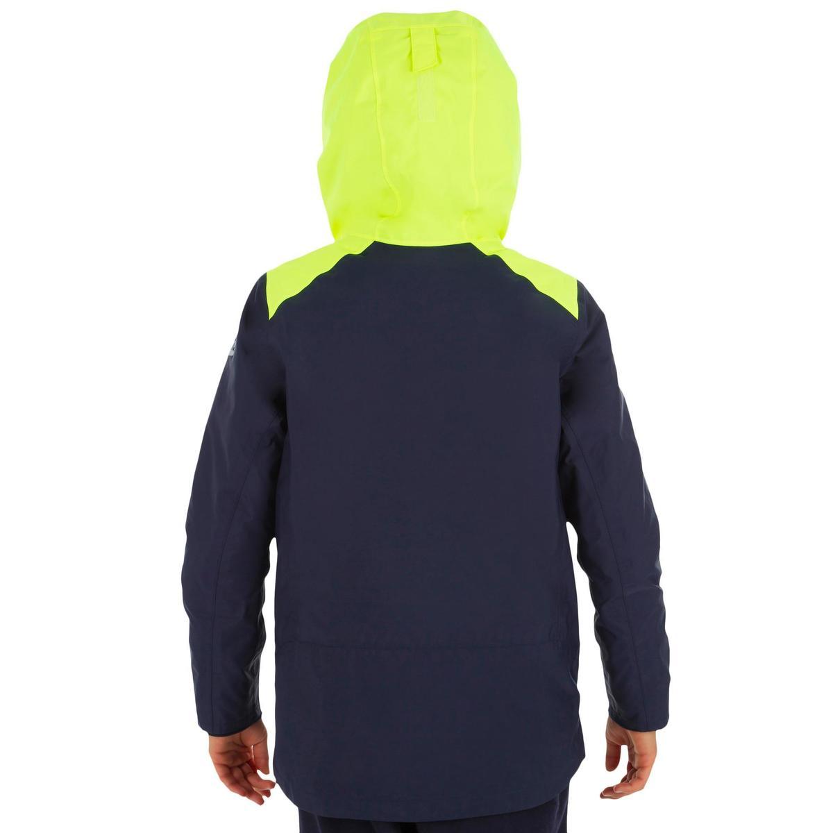 Bild 4 von Segeljacke warm 100 Jungen blau/gelb