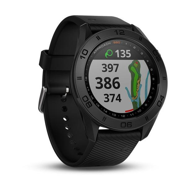 Golf GPS-Uhr Approach S60 schwarz