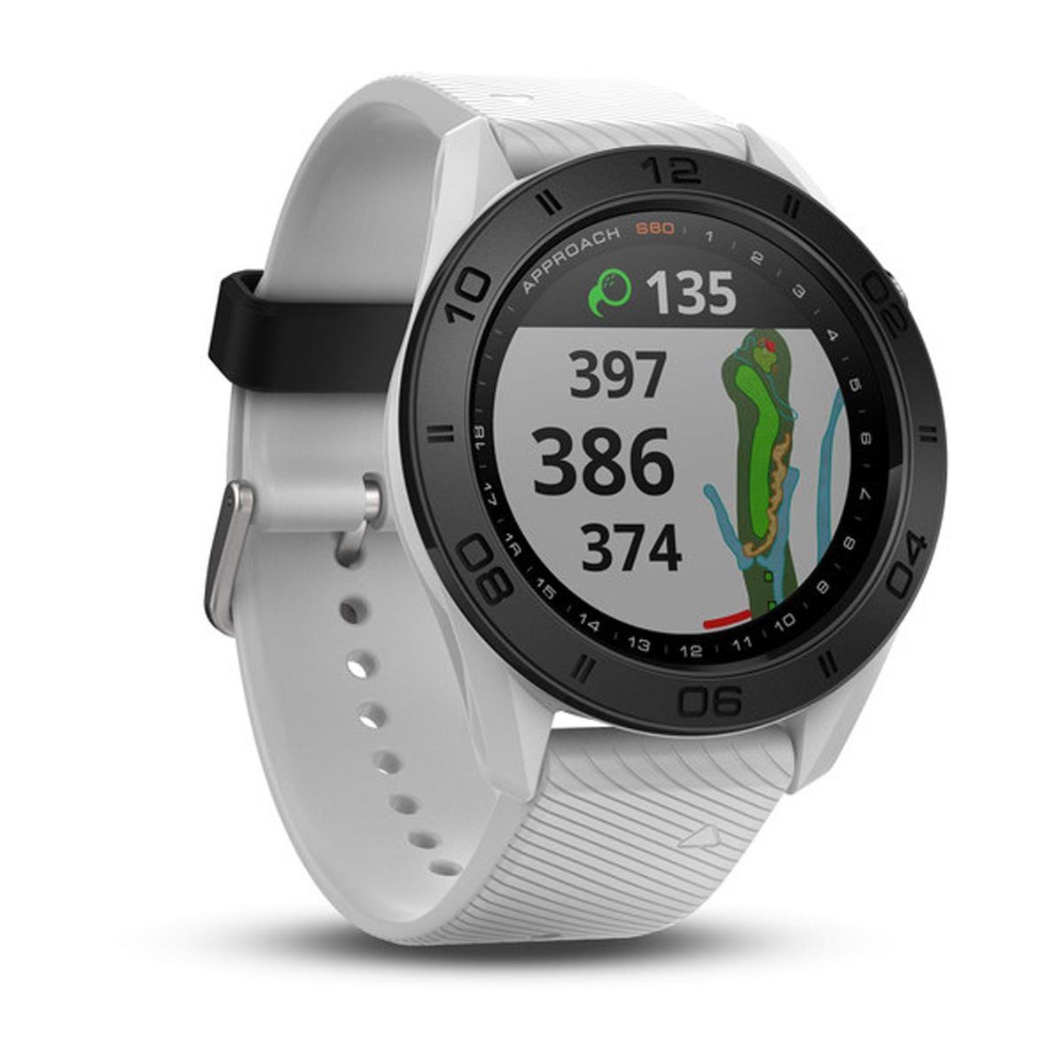 Bild 1 von Golf GPS-Uhr Approach S60 weiß