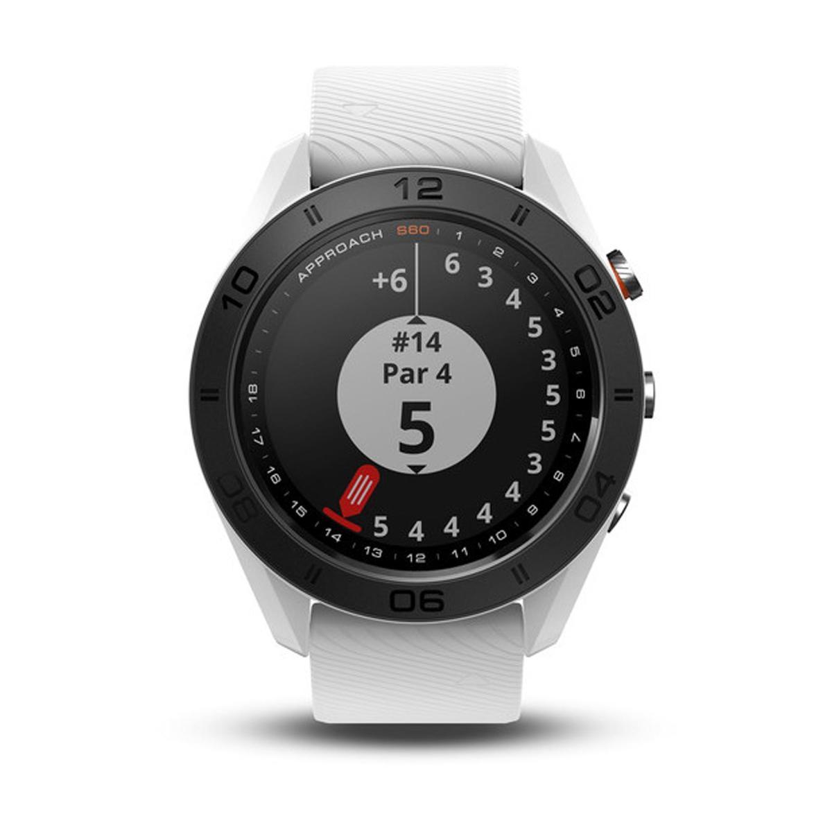 Bild 3 von Golf GPS-Uhr Approach S60 weiß