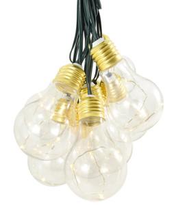Solar-Lichterkette Lumify USB Vintage Glühbirnen