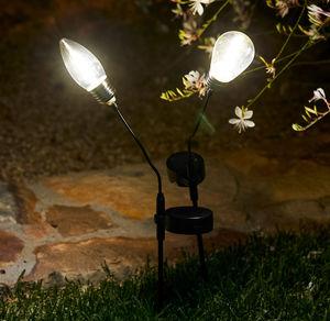 Solar-Mini-Glühbirne in originellem Design, ca. 42cm