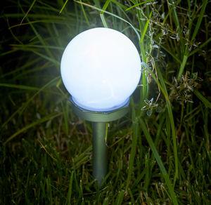 LED-Solar-Wegleuchte mit Erdspieß, ca. 34cm