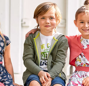 Kids Jungen-Kapuzenjacke mit Känguru-Taschen