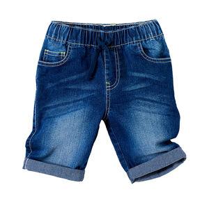Kids Jungen-Jeans-Bermudas mit elastischem Bund