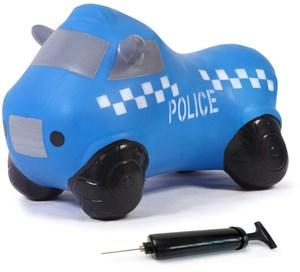 Jamara Hüpfauto Police Truck mit Pumpe