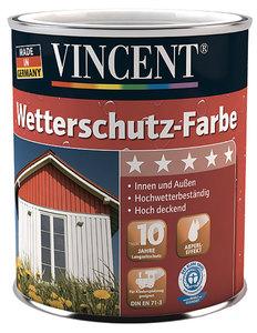 Vincent              Wetterschutzfarbe schokobraun