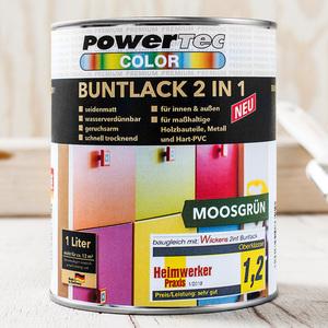 Powertec Color Premium Buntlack 1 Liter