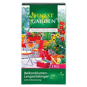 Finest Garden Balkonblumen-Langzeitdünger